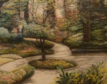 Shaded Path 1988 Limited Edition Print - Harold Altman