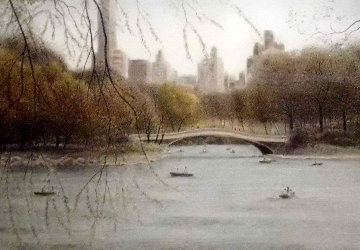 Bow Bridge - Fall 1994 Limited Edition Print - Harold Altman