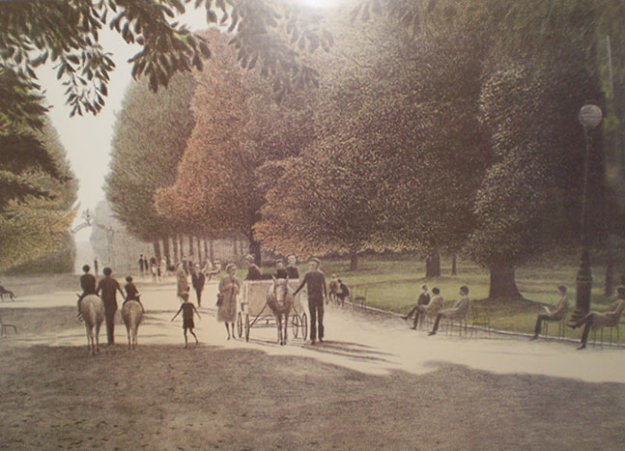 Chilldren Parc Monceau Ap 1978 By Harold Altman