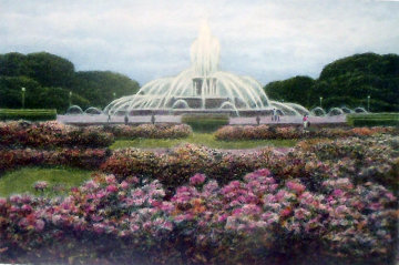 Buckingham Fountain 1994 Chicago Limited Edition Print - Harold Altman