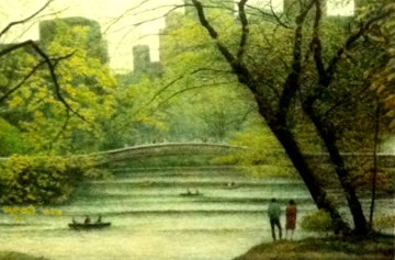 Central Park 1987, New York Limited Edition Print - Harold Altman