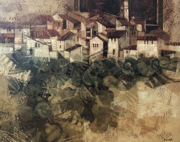 Catalan Village  1978 (early) 33x39