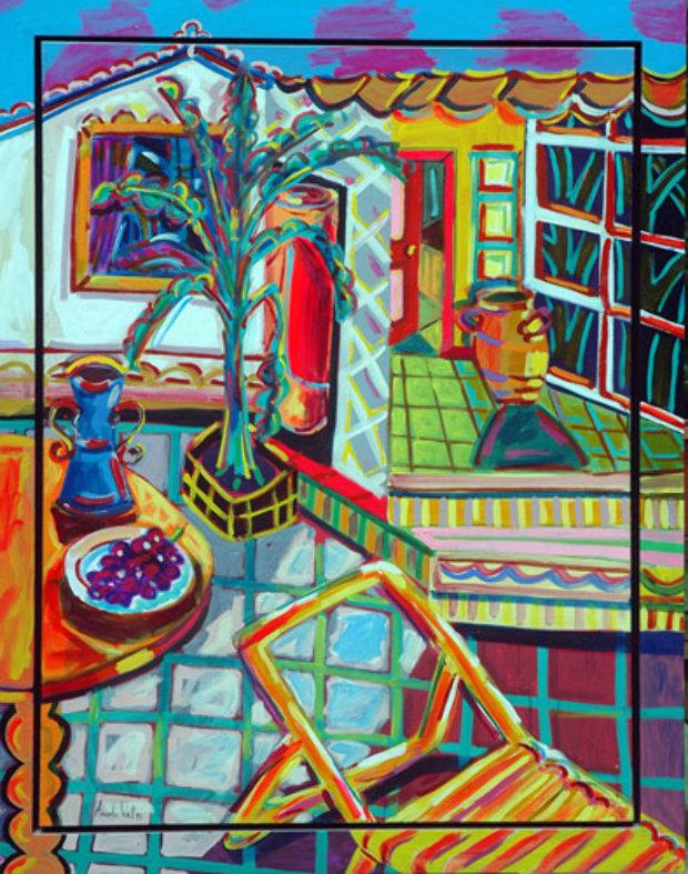 Still Life 54x39 By Amanda Watt