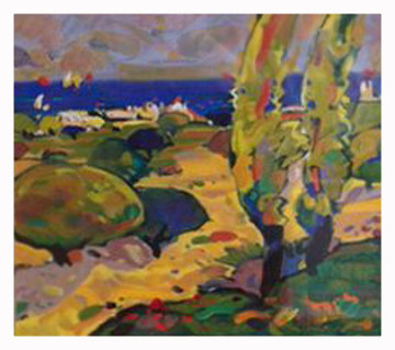 Costa De Mallorca 1995 Limited Edition Print - Manel Anoro