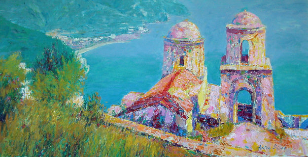 Old Chapel by the Sea 1989 30x40