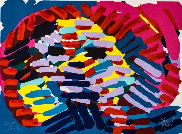 Once I Was the Sun 1978 Limited Edition Print - Karel Appel