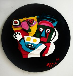 Floating Family Sculpture 1976 25 in Sculpture - Karel Appel