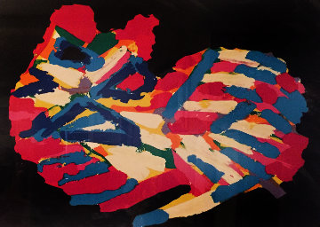 Sleeping Cat 1978 Limited Edition Print - Karel Appel