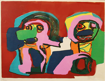 Untitled 1969 Limited Edition Print - Karel Appel