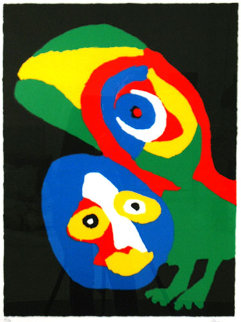 Perroquet Limited Edition Print - Karel Appel