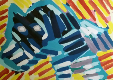 Bull Dog 1980 Limited Edition Print - Karel Appel