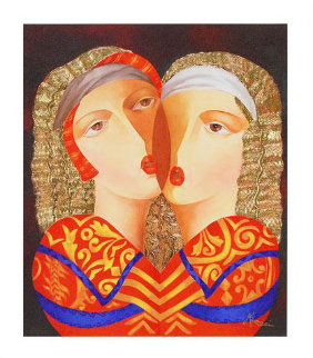 Women in Love Limited Edition Print - Arbe Berberyan