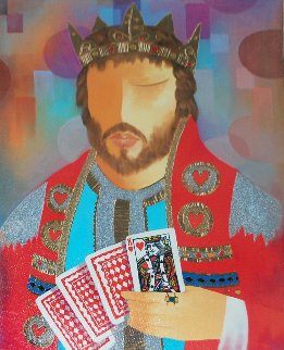 King of Hearts 2009 Limited Edition Print - Arbe Berberyan