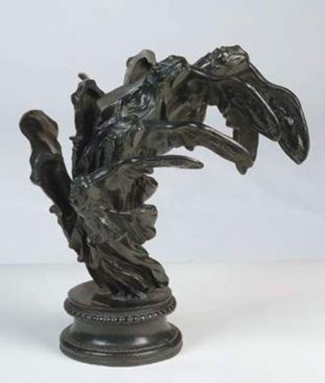 Victory of Samothrace Bronze Sculpture 1986