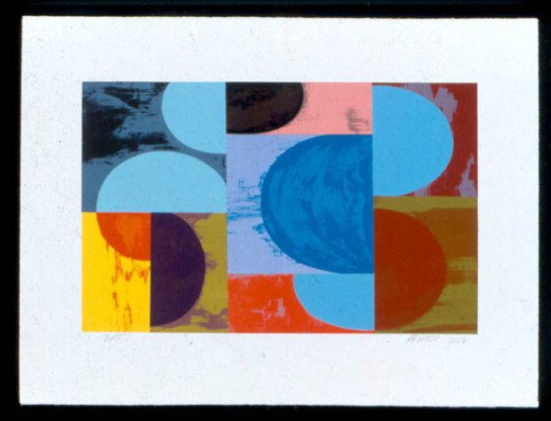 Untitled Set of 2 Lithographs 2002