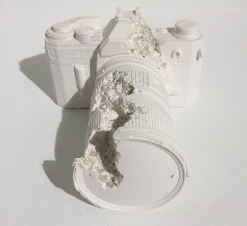 Camera (Future Relic Dafr-02) 2014  Sculpture - Daniel Arsham
