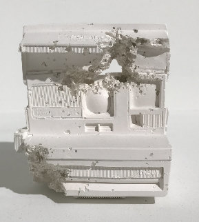 Polaroid Plaster Sculpture  (Future Relic 06) 2016  6 in Sculpture - Daniel Arsham