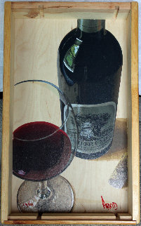 It Stands Alone Silver Oak Limited Edition in Wine Crate Limited Edition Print - Thomas Arvid