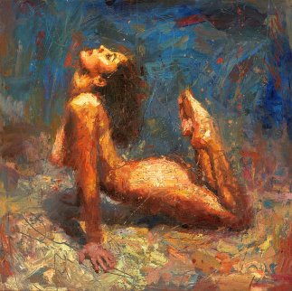 Emerging Embellished Limited Edition Print - Henry Asencio