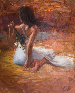 Untitled Painting 1997  64x76 Original Painting - Henry Asencio