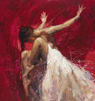 Sentiments Triptych: Conviction, Desire, Liberation Suite of 3 AP 2005 Limited Edition Print - Henry Asencio