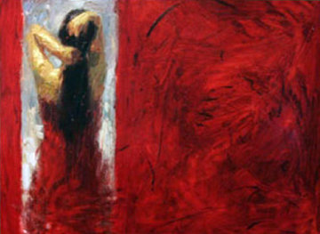 Open Door Embellished Limited Edition Print - Henry Asencio