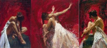 Sentiments Triptych-Conviction, Desire, Liberation Suite of 3 2005 Limited Edition Print - Henry Asencio
