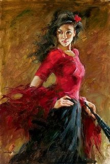 Fan Dancer Limited Edition Print - Andrew Atroshenko