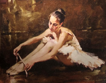 Before the Dance Embellished 2007 Limited Edition Print - Andrew Atroshenko