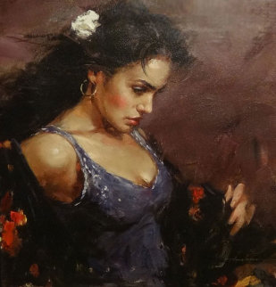 Gypsy Embellished Unique  2006 18x20 Limited Edition Print - Andrew Atroshenko
