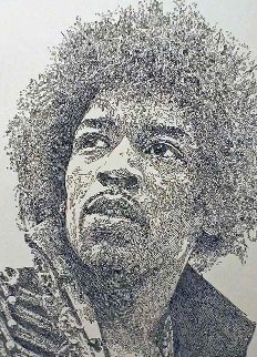 Kiss the Sky, Jimi Hendrix 2013 Limited Edition Print - Guillaume Azoulay