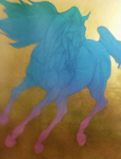 Horses Suite of 4 Serigraphs 2002 Limited Edition Print - Guillaume Azoulay