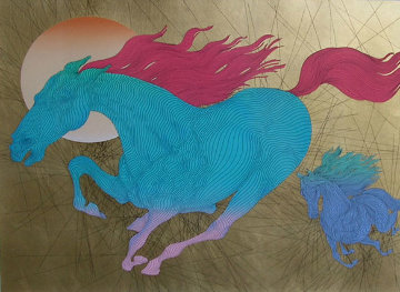 Equus 2006 Limited Edition Print - Guillaume Azoulay