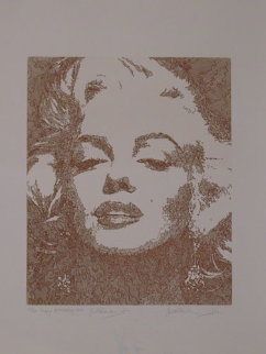 Happy Birthday Marilyn Monroe with Remarque  Limited Edition Print - Guillaume Azoulay