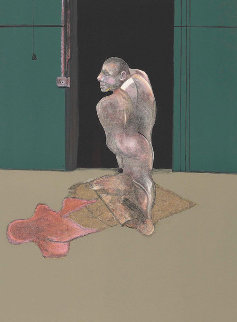 Study For a Portrait of John Edwards 1987  Limited Edition Print - Francis Bacon