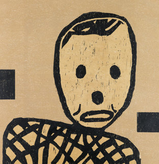 Untitled (Mr. Bill) 1985 Limited Edition Print - Donald Baechler
