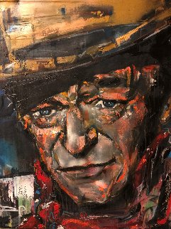 John Wayne 2009 51x41 Original Painting - David Banegas