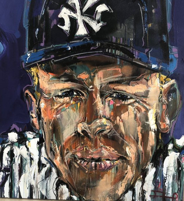 Mickey Mantle 2012 42x42