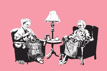 Grannies 2006 Limited Edition Print -  Banksy