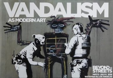 Banksy X Basquiat: Vandalism As Modern Limited Edition Print -  Banksy