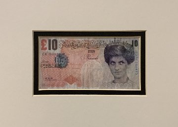 Di-Faced Tenner 2004 Limited Edition Print -  Banksy