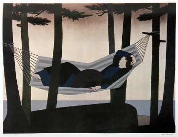 Summer Idyll 1980 Limited Edition Print - Will Barnet