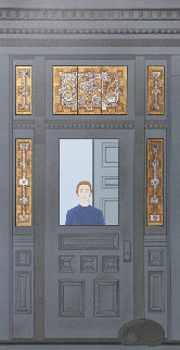 Doorway AP 1998 Limited Edition Print - Will Barnet