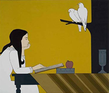 Instrospection AP 1972 Limited Edition Print - Will Barnet