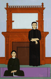 Reflection AP 1971 Limited Edition Print - Will Barnet