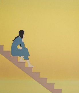 Stairway to the Sea 1982 Limited Edition Print - Will Barnet