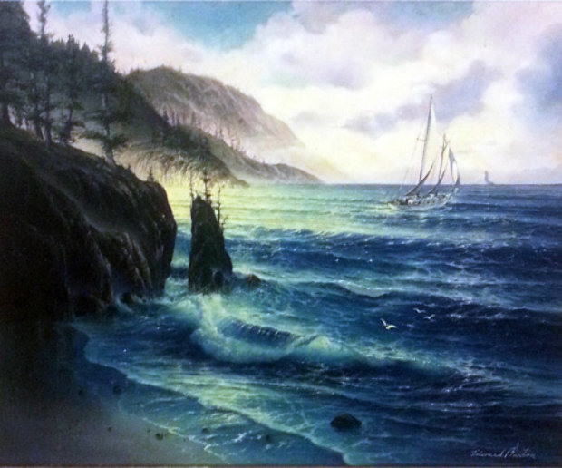 Atlantis Sinking Oil Painting