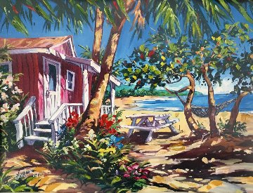 Picnic in Paradise 2004 Limited Edition Print - Steve Barton