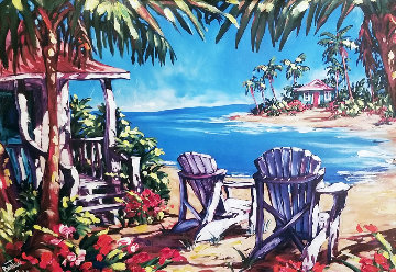 Paradise Cove AP 2001 Embellished Limited Edition Print - Steve Barton