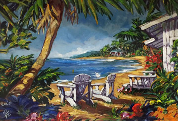 Island Hideaway Embellished 2003  Limited Edition Print - Steve Barton